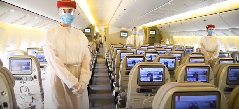 Compania aeriană Emirates aplică noi reguli de călătorie pe timp de pandemie