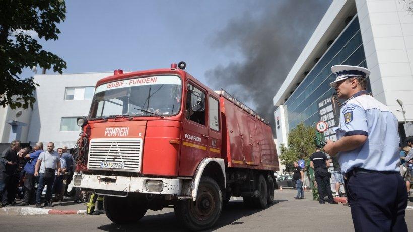 Incendiu cumplit la Blaj, în această dimineață. Pompierii au găsit o femeie arsă de vie