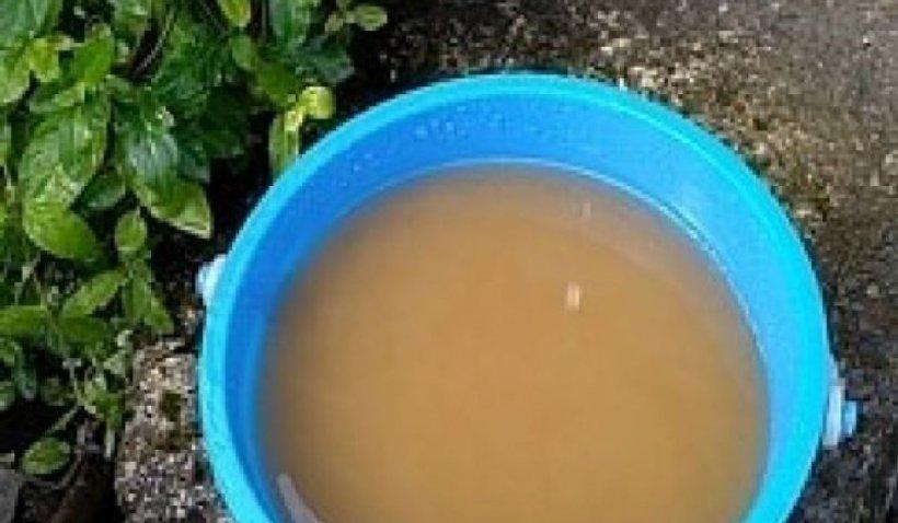 Apă cu porția, în plină criză sanitară, în mai multe localități din Buzău