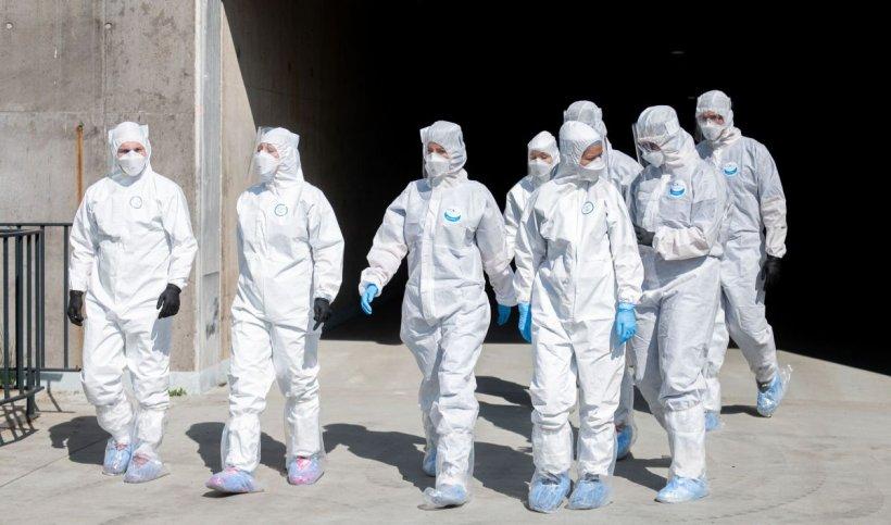 Zeci de medici și asistenți medicali pleacă în Republica Moldova să lupte cu noul coronavirus