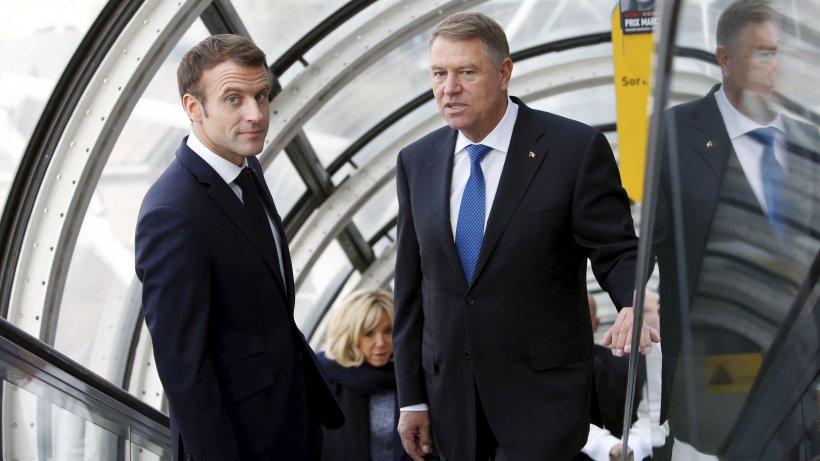 Klaus Iohannis l-a sunat pe Emmanuel Macron, în plină criză COVID-19