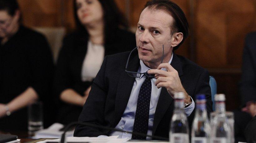 """Moțiunea simplă """"Virusul Cîțu a infectat economia națională"""", dezbătută în Parlament"""