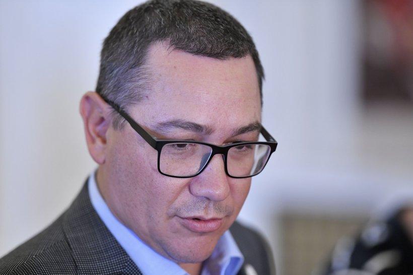 Ponta: Avem nevoie urgent de un guvern de uniune națională