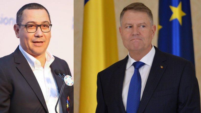 Ponta: Faptul că Iohannis nu iese din haina de președinte al PNL și atacă toată zi PSD-ul mă deranjează