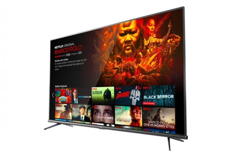 eMAG reduceri. 3 televizoare 4K mari, in rate fara dobanda, mai ieftine si cu 44%