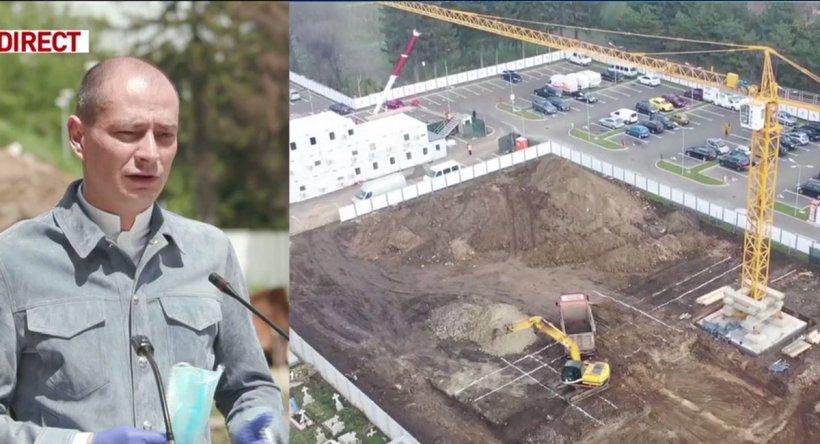 Începe construcţia spitalului de stomatologie din sectorul 4. Băluţă: Va fi gata în mai 2021