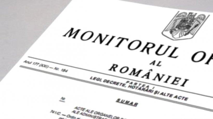 Legea privind starea de alertă a fost publicată în Monitorul Oficial