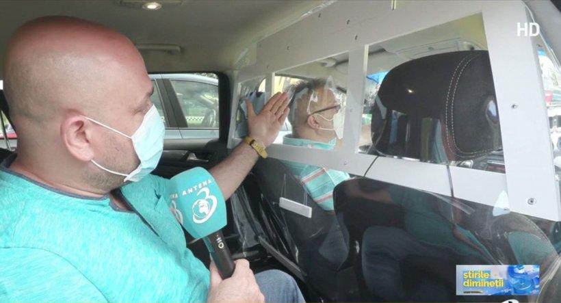 Taxiurile vor avea panouri separatoare pentru prevenirea răspândirii COVID-19