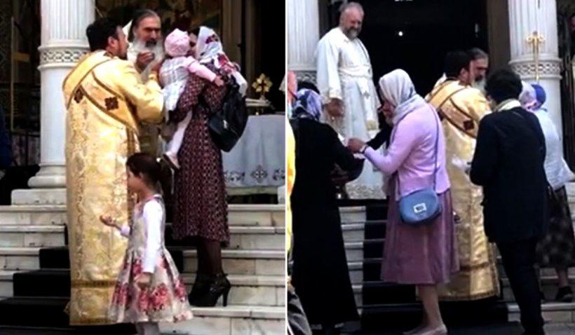 Reacția lui ÎPS Teodosie, după ce a împărtășit copii cu aceeași linguriță: 'Este lucrarea lui Hristos'