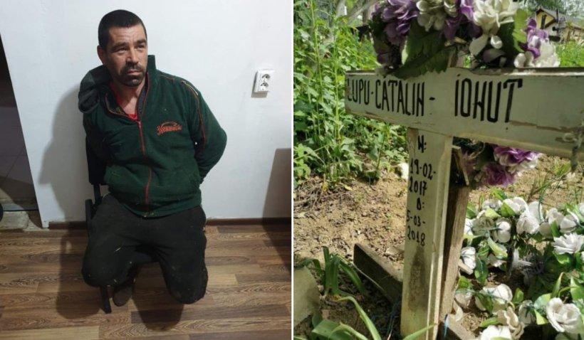 Evadatul din Prahova a dormit pe mormântul fiului său timp de o lună până să fie prins