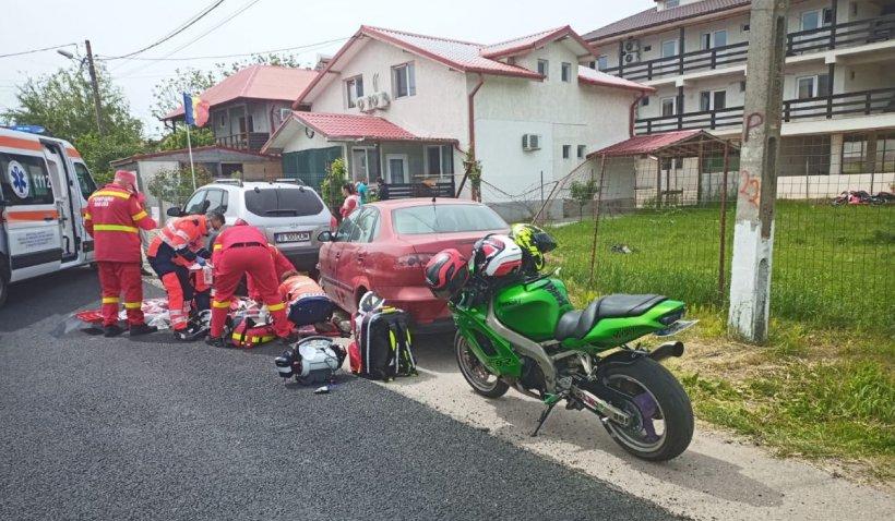 Un motociclist și-a pierdut viața, după un accident ciudat în Vama Veche