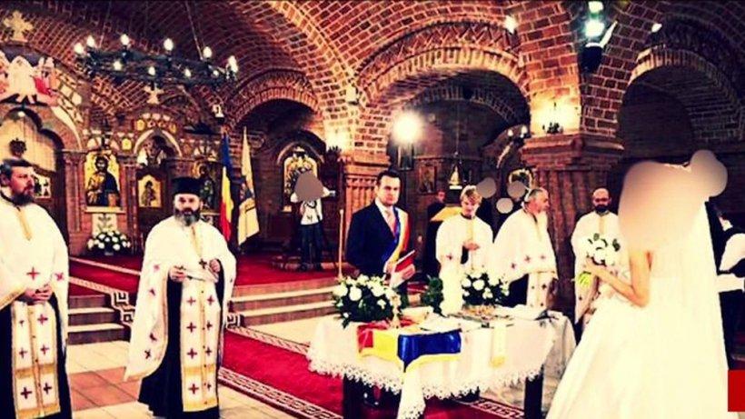 Nuntă mare în Baia Mare. Șeful Județului și primarul, fără mască la ceremonie