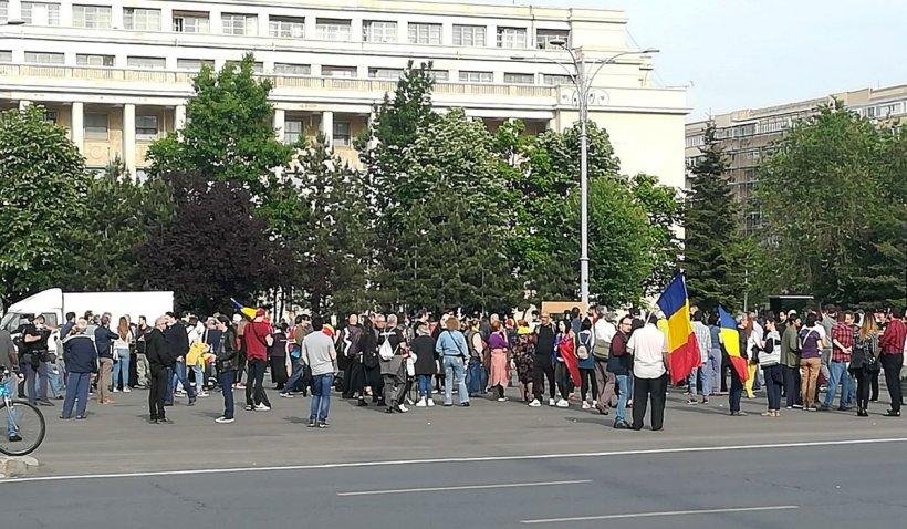 Protestele interzise de Executiv prin hotărârea de Guvern