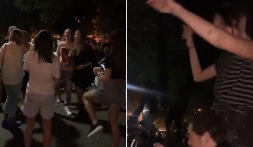 Terasele din Herăstrău, sancţionate de ANSVSA după petrecerea de sâmbătă