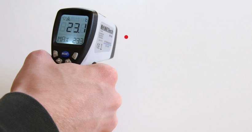 Mulți români reclamă că termometrele cu care sunt testați la intrarea în supermarket arată valori aiuritoare. Explicația specialiștilor