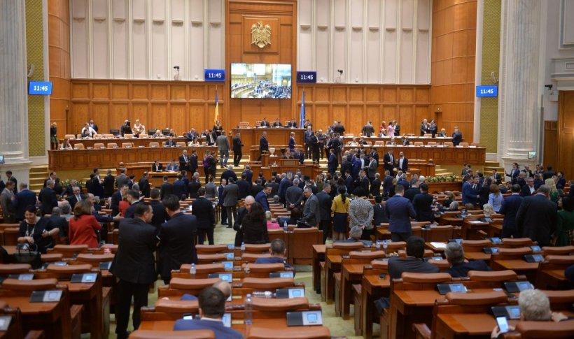 Parlamentul a încuviințat starea de alertă