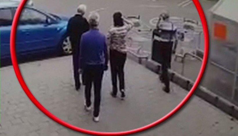 Ce arată imaginile de pe camerele de supraveghere de la scandalul regizat dintr-un hipermarket bucureștean