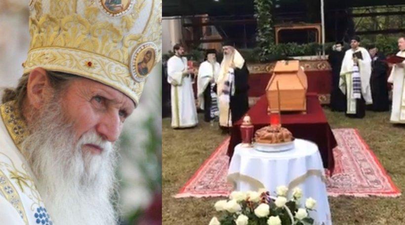 Zeci de oameni la slujba ÎPS Pimen, deşi mulţi români nu-şi pot vedea rudele moarte de COVID-19
