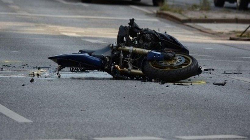 Copil de cinci ani, rănit grav de un motociclist, în Olt