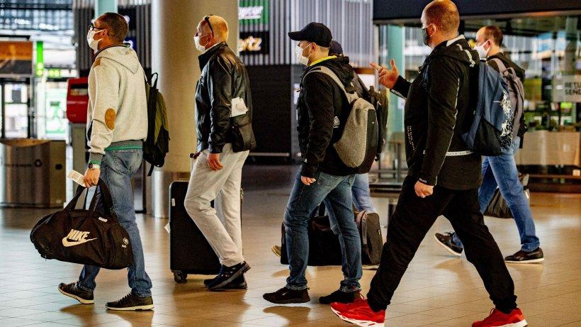 92 de români, printre care muncitori sezonieri, s-au întors acasă din Germania