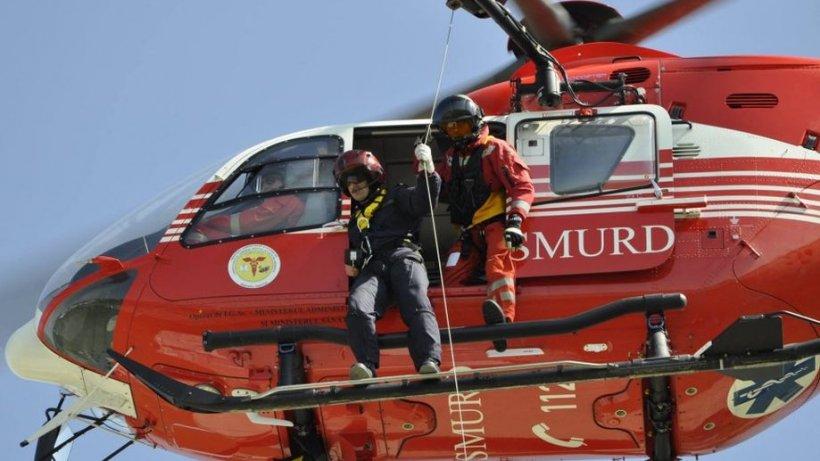 Angajat pe un elicopter SMURD din Timiș, chemat să-și salveze fiul de patru ani