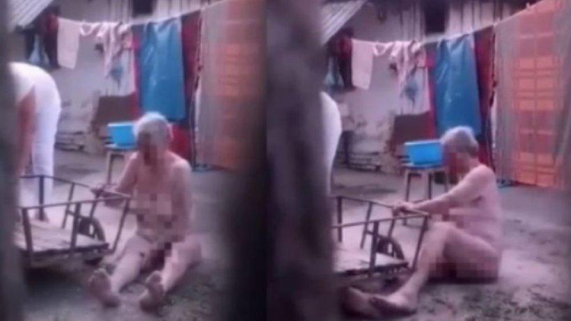 Noi detalii înfiorătoare din casa ororilor, în cazul bătrânei torturate de fiică: Era lovită la nas. Li s-a spus că a căzut pe scări