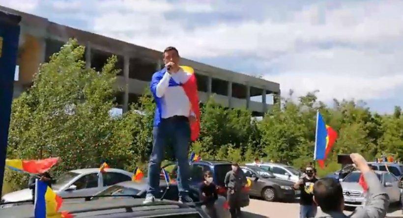 Protest la Sebeș pentru a condamna tăierile abuzive de păduri