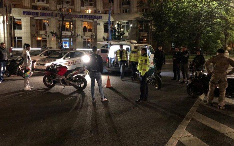 Razie în trafic. Polițiști și inspectori RAR au verificat mașinile șoferilor din Capitală