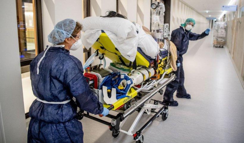 Focar de coronavirus: 34 de persoane infectate la Spitalul de neurochirurgie din Iaşi, din care 31 cadre medicale