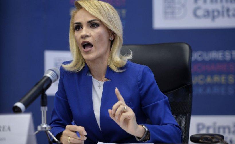 Gabriela Firea: Nu cred că Vela îmi va fi contracandidat. Miniștrii vor să fie prim-miniștri, nu primari
