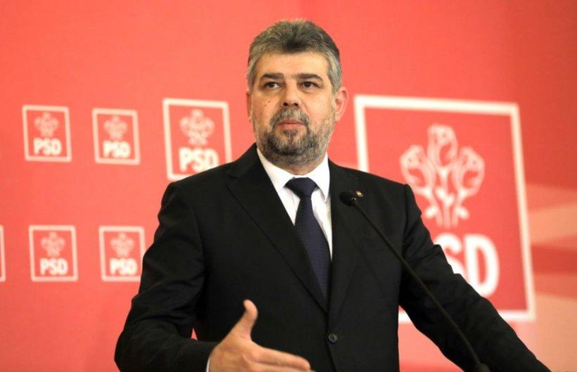 Marcel Ciolacu și-a anunțat candidatura la șefia PSD