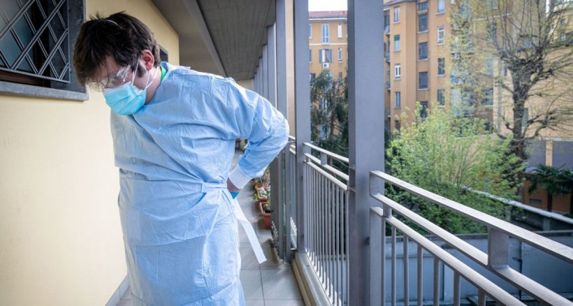 Pacient dispărut de la Spitalul din Târgu Jiu, după ce a făcut accident vascular și a fost trimis la triaj epidemiologic pentru COVID