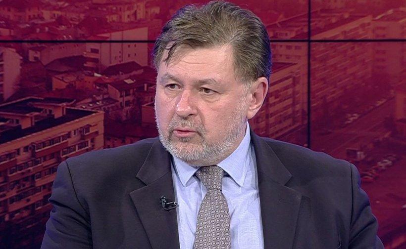 Prof. dr. Alexandru Rafila prezintă evoluția pandemiei: 'Avem o creștere ușoară a numărului de cazuri în weekend'