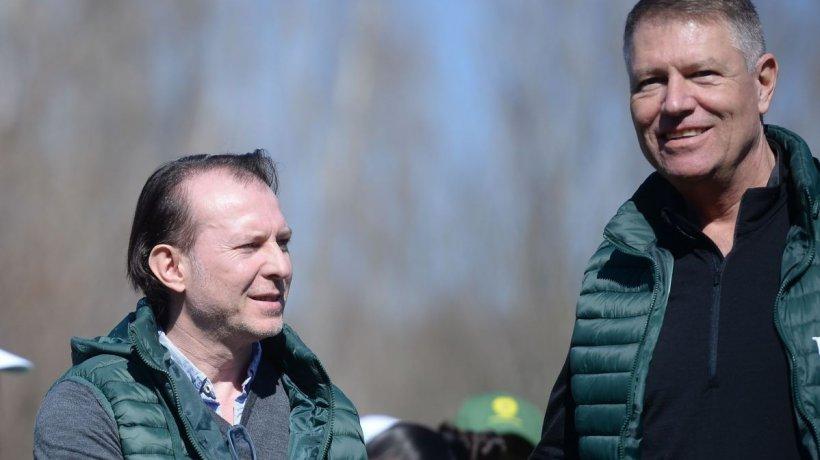 Klaus Iohannis și Florin Cîțu, contradicții majore despre bani