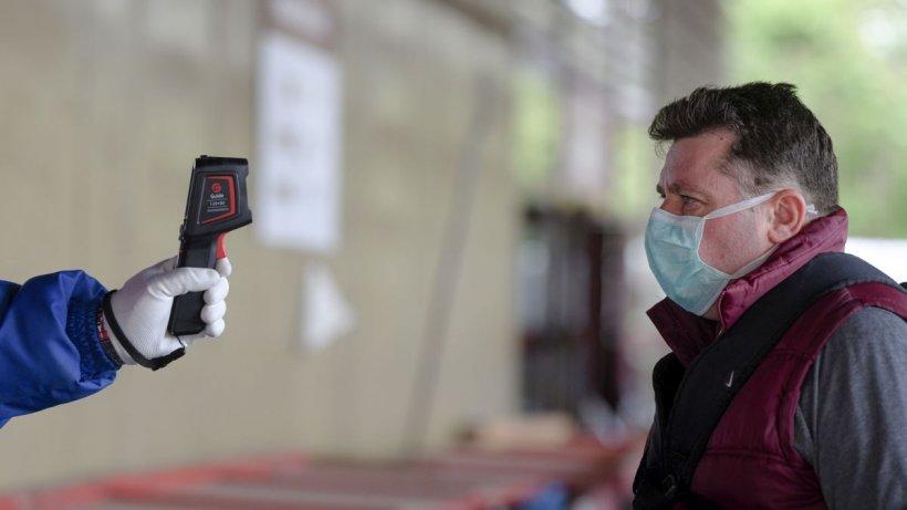 Ministerul Sănătății: Măsurarea temperaturii la intrarea în spații închise e obligatorie