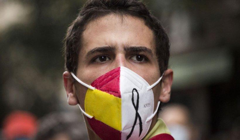 Zece zile de doliu național în Spania, în memoria victimelor Covid-19