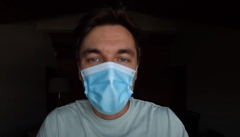 """Cum se fixează corect masca, pentru a nu avea lipsă de oxigen. Dr. Mihail: """"Funcționează ca o parașută"""""""