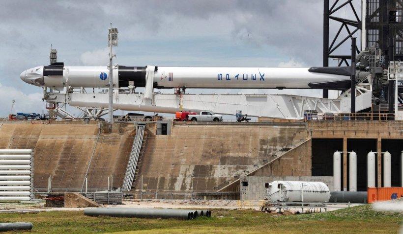 NASA amână lansarea istorică a SpaceX din cauza condițiilor meteo