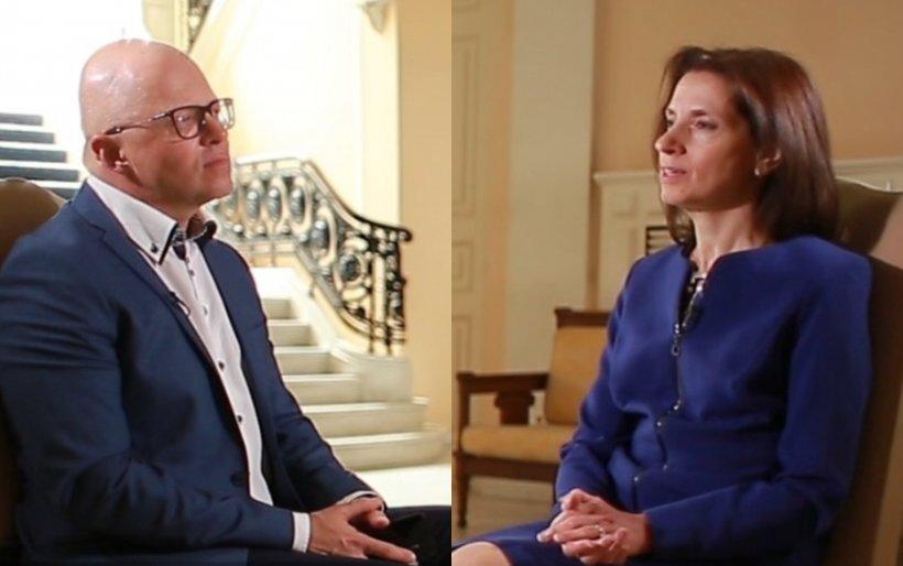 Ambasadorul Greciei în România, Sofia Grammata, interviu exclusiv pentru Antena 3. Anunțuri esențiale pentru români