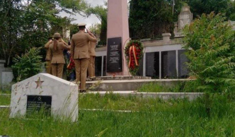 Gafă de proporții la Turda, de Ziua Eroilor. Autoritățile au confundat cimitirele și au adus onoruri soldaților ruși