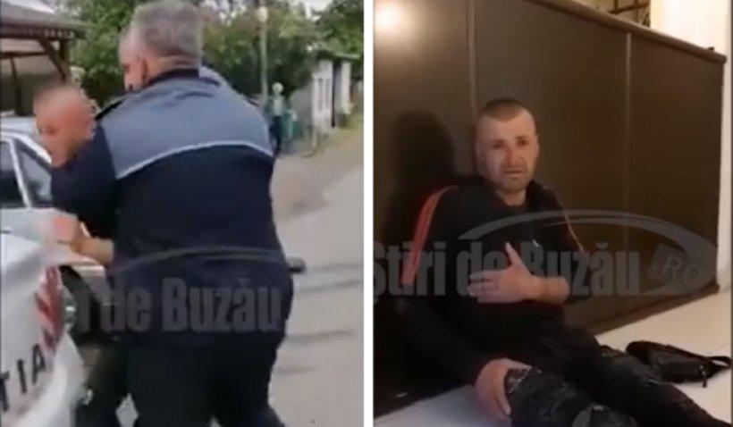 Polițiști din Buzău, acuzați că au bătut un tânăr întors din Italia: 'A greșit, dar nu merita să-l omoare cu bătaia'. Cum motivează gestul oamenii legii (VIDEO)