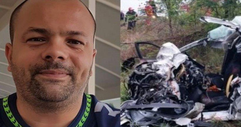 """Polițistul Victor Maftei, martor la cumplitul accident din Galaţi: """"Au murit sub ochii mei. Am început să plâng din cauza neputinţei"""""""