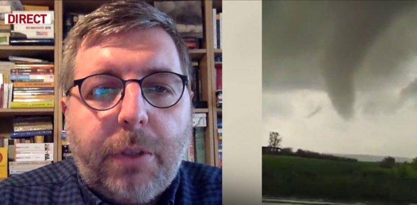 De ce avem furtuni şi tornade în ultima perioadă? Explicaţiile unui expert în fenomene meteo extreme