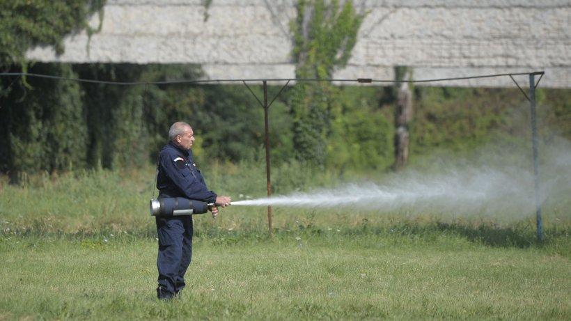 Poluare pe lacul de acumulare Băneasa. Apele Române: S-au montat baraje absorbante