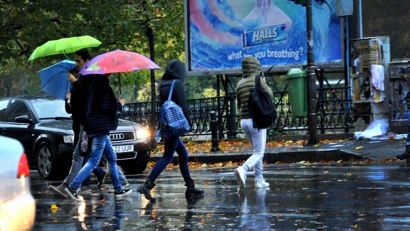 Prognoză meteo specială pentru București și restul țării, în perioada 31 mai - 3 iunie. Nu scăpăm deploi și vânt