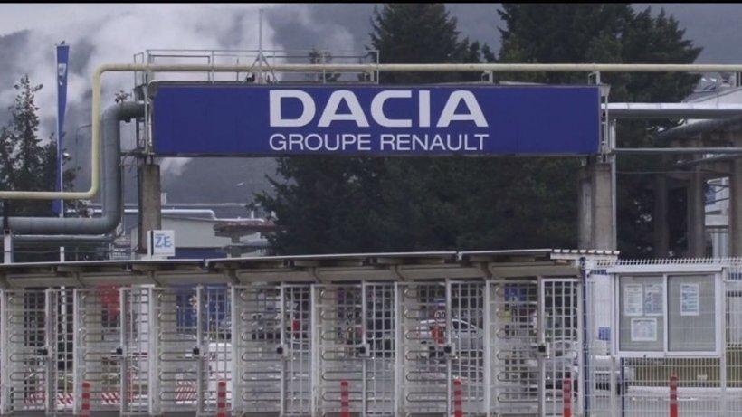 Dacia trimite alte sute de angajați în șomaj tehnic