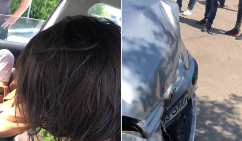 Două tinere drogate, accident în București: 'Dacă nu plecăm în 3 minute, sunați la Poliție'
