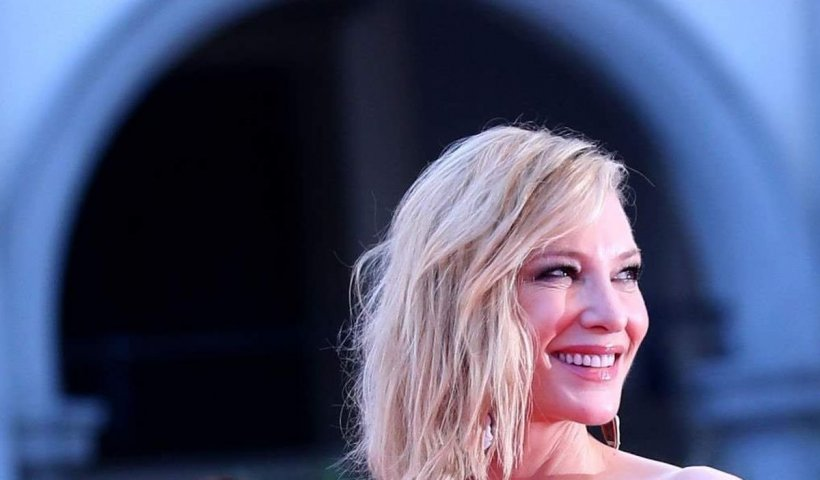 Actrița Cate Blanchett s-a tăiat cu drujba la cap