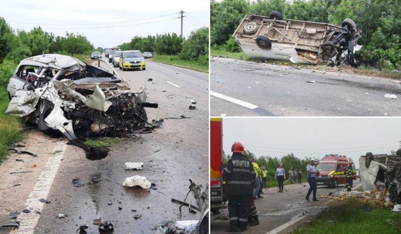 Accident cu trei morți în satul Văceni din Teleorman, după o greșeală incredibilă