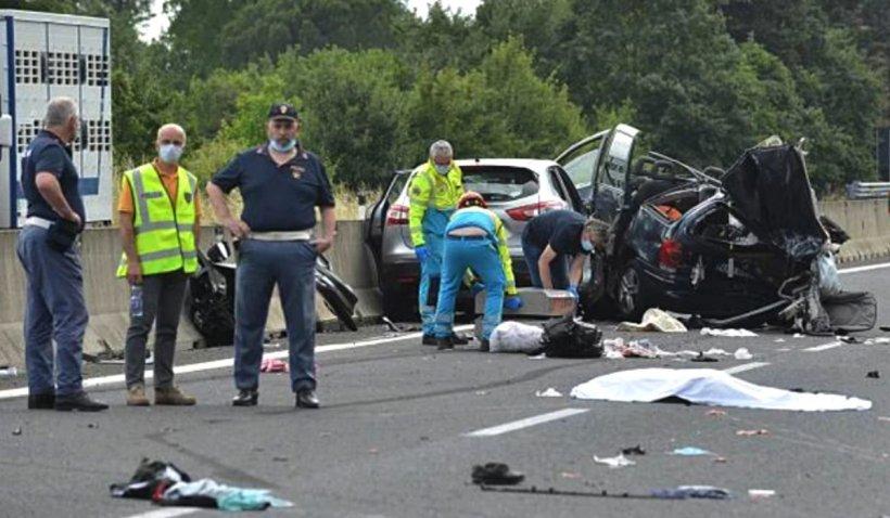 Românul care și-a pierdut doi copii și părinții într-un accident în Italia a fost arestat